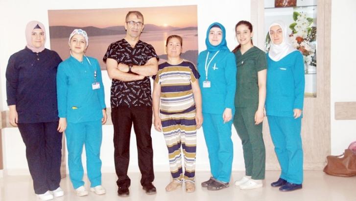 Hatem'de 'tip 2 diyabet'ten ameliyatla kurtuldu