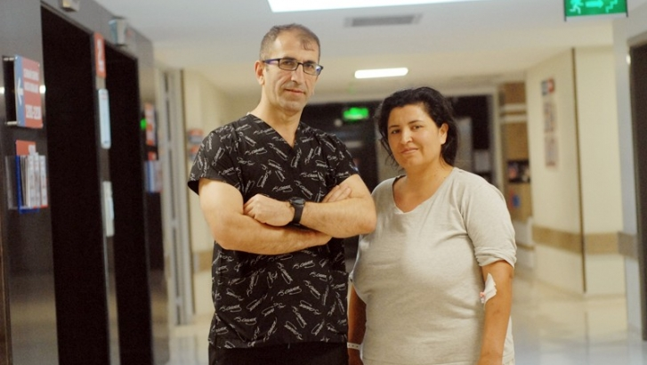 Çile Hatem Hastanesi'nde bitecek