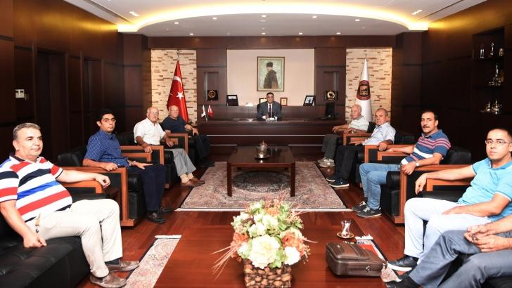 Deri imalatçıları ve saraciyecileri GSO'yu ziyaret etti