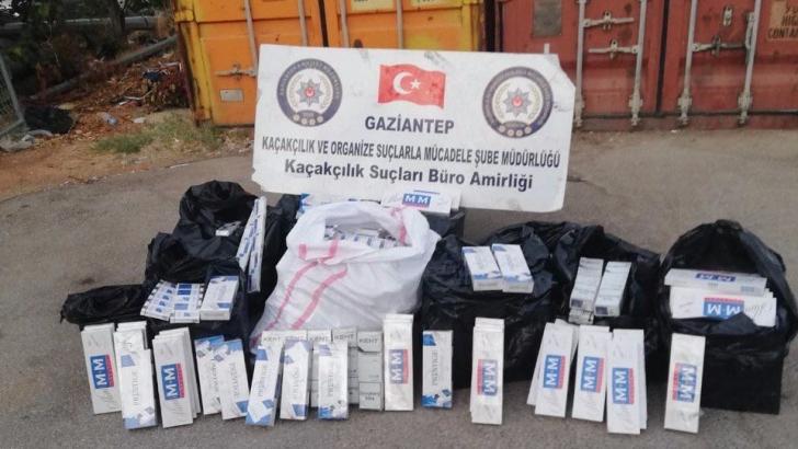 6 bin 250 paket kaçak sigara ele geçirildi