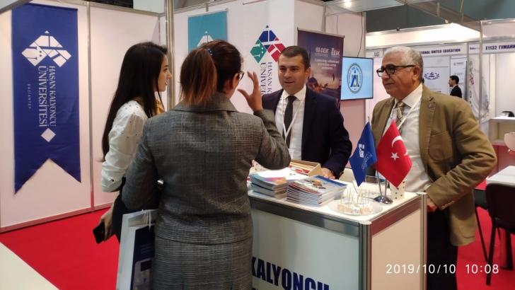 HKÜ, uluslararası Azerbaycan fuarında