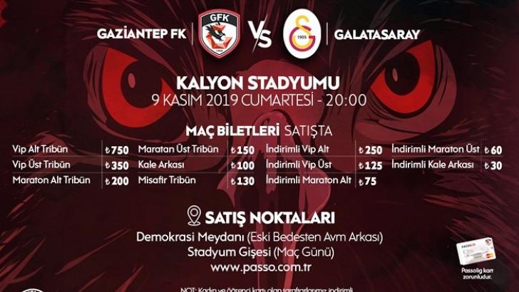 Galatasaray maçının bilet fiyatları belli oldu