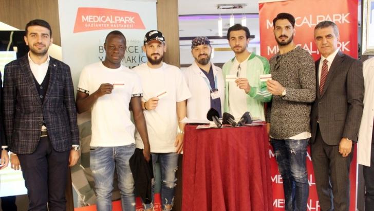 Gaziantep FK'li futbolculardan organ bağışı