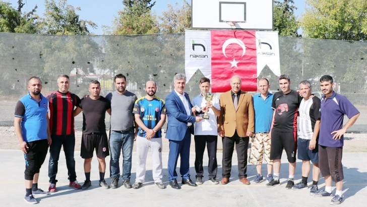 Naksan Holding'de turnuva heyecanı