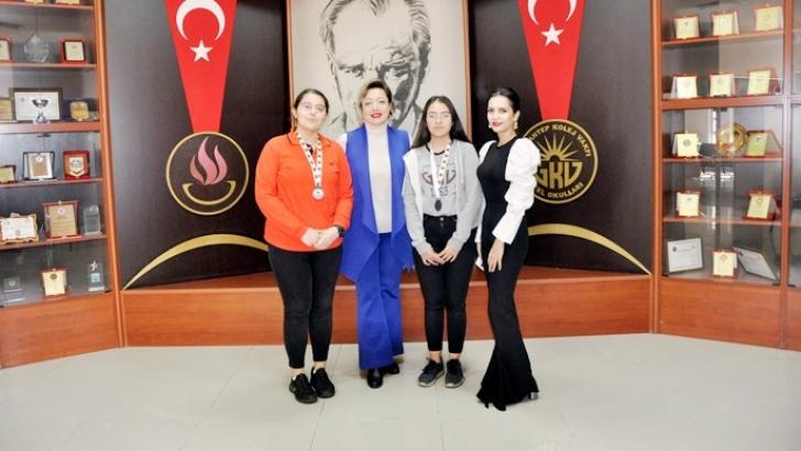 Özdebir'in iki Türkiye şampiyonu GKV'den
