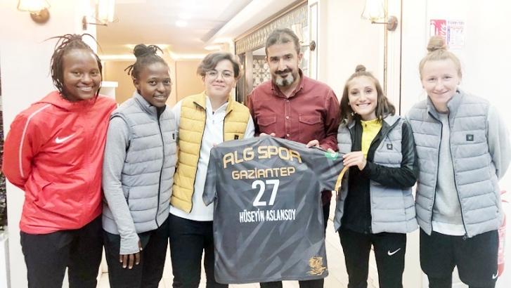 ALG Spor'a sponsor desteği