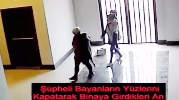 3 kadın hırsız kamera sayesinde yakalandı