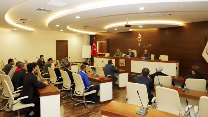 Oğuzeli Belediyesi'nden stratejik planlama toplantısı