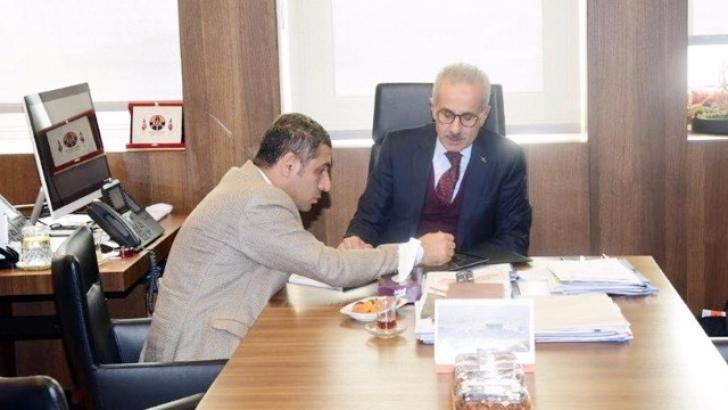 Taşdoğan'dan Karayolları Genel Müdürüne ziyaret