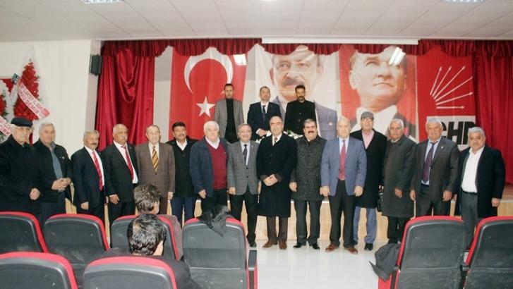 CHP Yavuzeli teşkilatı başkanını seçti