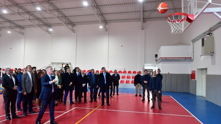 Spor Şehri Gaziantep'in spor yatırımları açılıyor