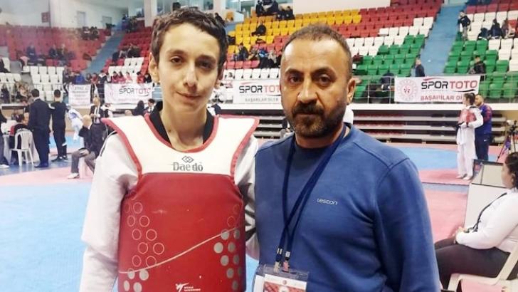 Şahinbey'li sporcunun büyük başarası