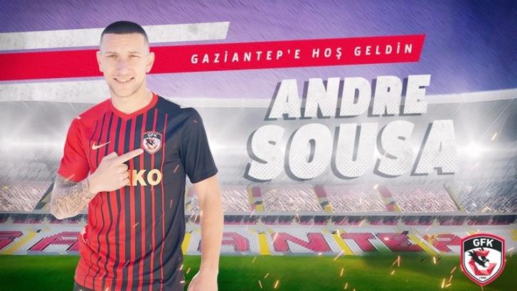 Andre Sousa Gaziantep FK'de