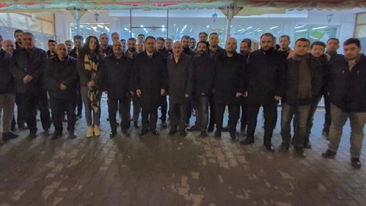 Nizip'ten Çeliktürk'e tam destek