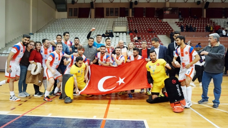 Avrupa Şampiyonluk Kupası Gaziantep Polisgücü'nün