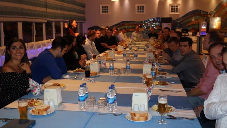 Gaziantep Polisgücü gala gecesinde 8 ülkeyi ağırladı