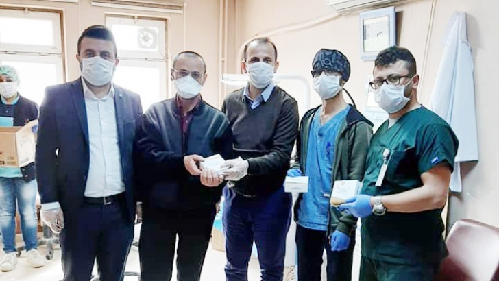 Hastane personeline baklava dopingi