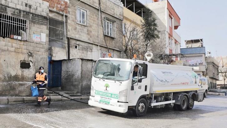 Şehitkamil Belediyesi 7/24 çalışıyor