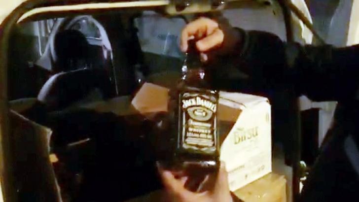 Sahte alkol ele geçirildi