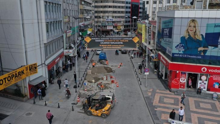 Büyükşehir, alt yapı ve üst yapı çalışmalarını hızlandırdı