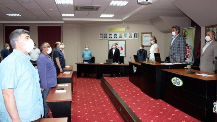 NTO'da sosyal mesafeli meclis toplantısı düzenlendi