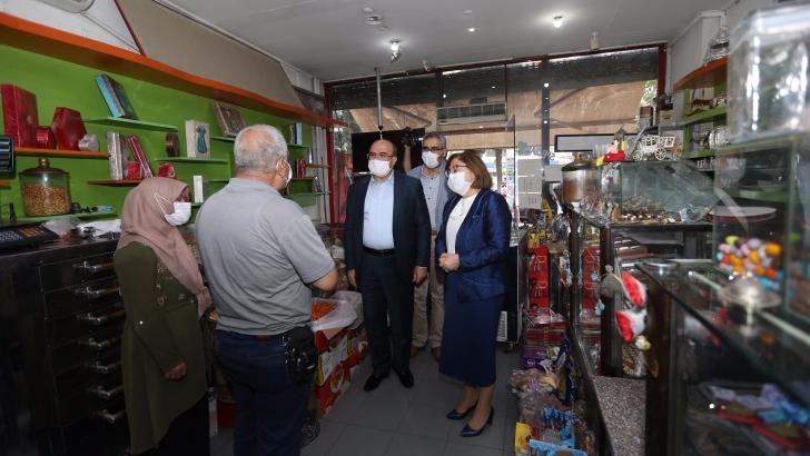 Başkan Şahin'den Nizip ziyareti