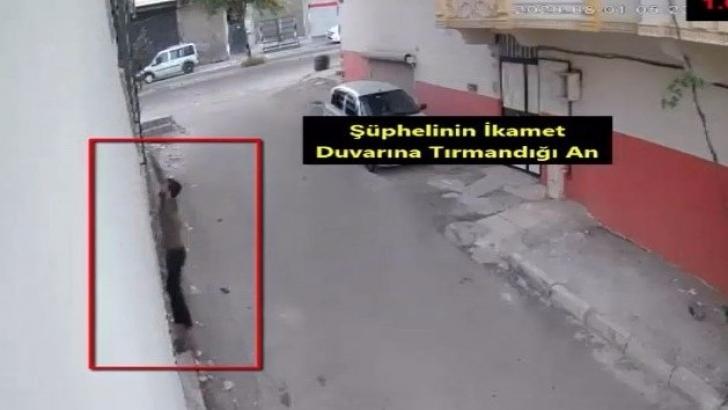 Hırsızlar güvenlik kamerasına ve polise yakalandı