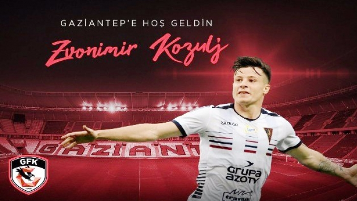 Zvonimir Kozulj Gaziantep FK'da