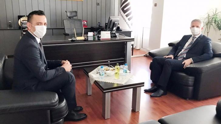 Vali Gül, TÜİK'i ziyaret etti