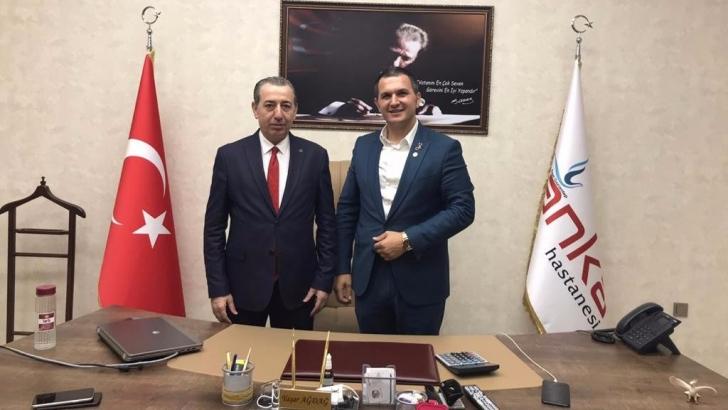 Bakan Maruf ANKA'yı ziyaret etti
