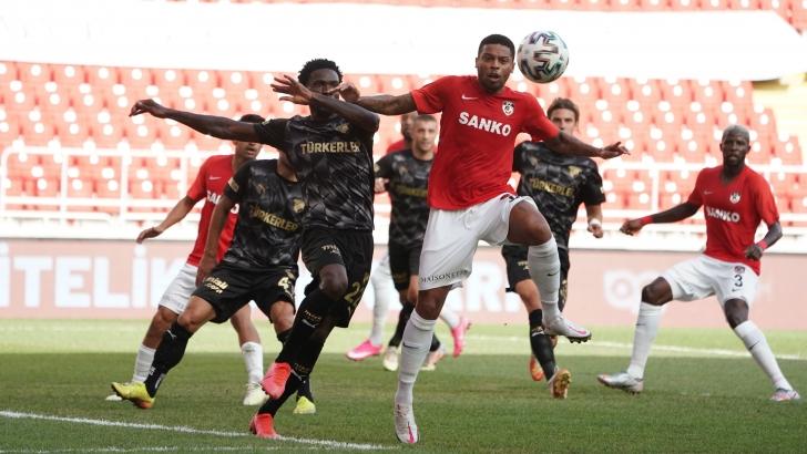 Gaziantep FK puanla döndü