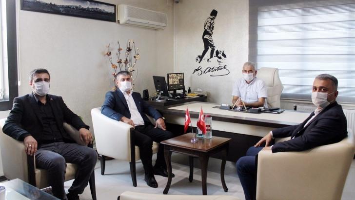 Ak Parti yöneticilerinden GÜNCEL'e ziyaret