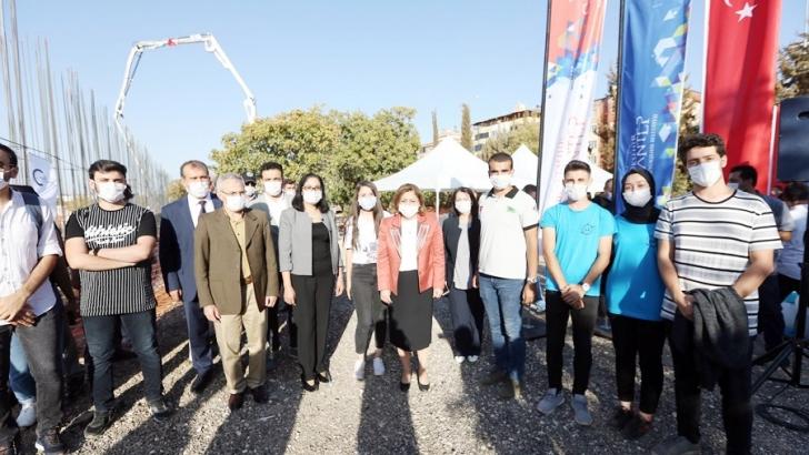 """""""Müzeyyen Erkul Bilim Merkezi"""" temeli atıldı"""