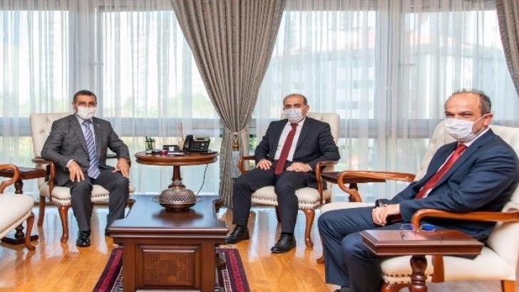 Taşdoğan'dan SGK Başkanı Yılmaz'a ziyaret