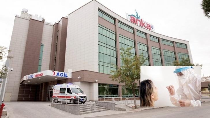 ANKA'da COVİD-19 PCR testi için özel laboratuvar kuruldu
