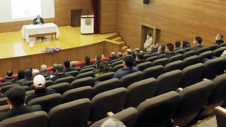 Başkan Kılıç, personelle değerlendirme ve istişare toplantısı gerçekleştirdi