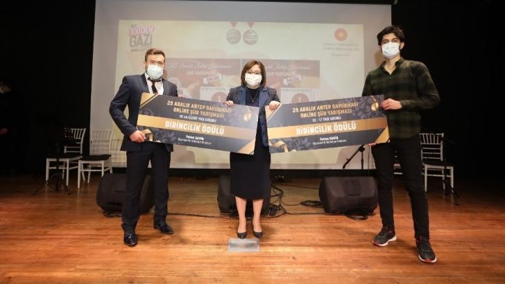Antep Savunması konulu online yarışmada ödüller sahiplerini buldu