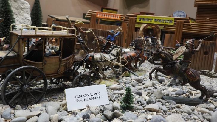 Çocukları geçmişe doğru yolculuğa götüren müze