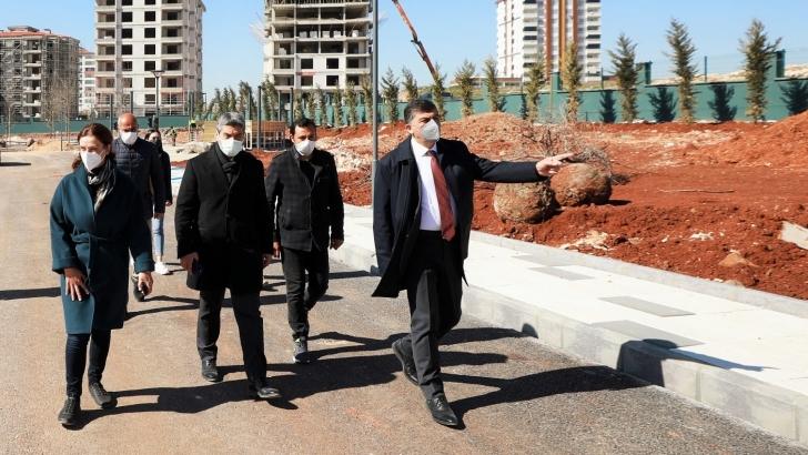 Şehitkamil Trafik Parkı'nda sona gelindi