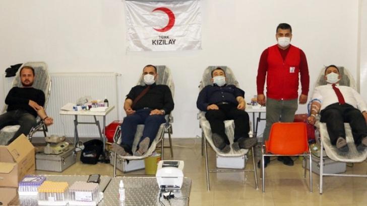 İMO'dan kan bağışı