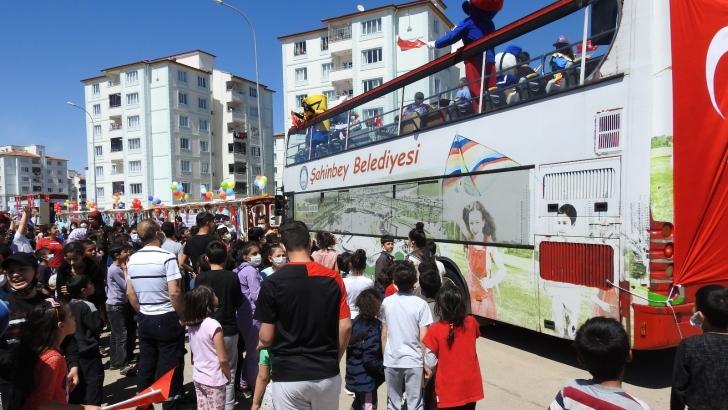 Şahinbey'den çocuklara 23 Nisan etkinliği