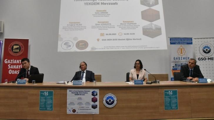 GSO ve EMO Gaziantep Şubesi'nden yenilenebilir enerji konulu toplantı
