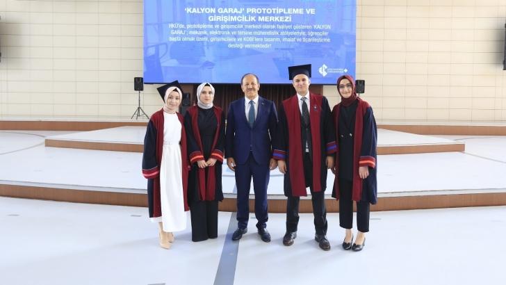 Türkiye'nin parlayan yıldızı Hasan Kalyoncu Üniversitesi