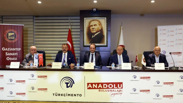 TÜRKÇİMENTO ANADOLU BULUŞMALARI'NIN BEŞİNCİSİ GAZİANTEP'TE YAPILDI