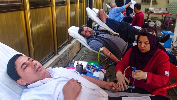 Kan bağışını geleneksel hale getirdiler