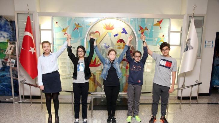 Özel Sanko Ortaokulu Türkiye birincisi oldu