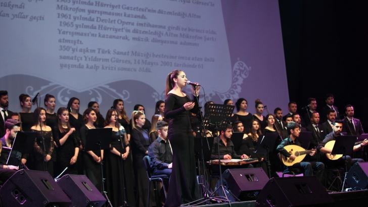 GAÜN'de Türk Sanat müziği ziyafeti