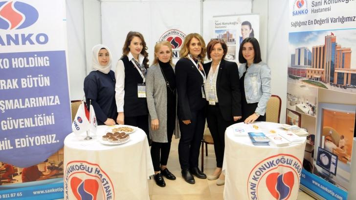 Özel Sani Konukoğlu Hastanesi fuarda stant açtı