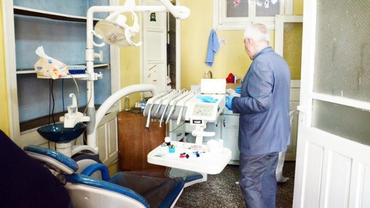 Ruhsatsız diş kliniğine operasyon