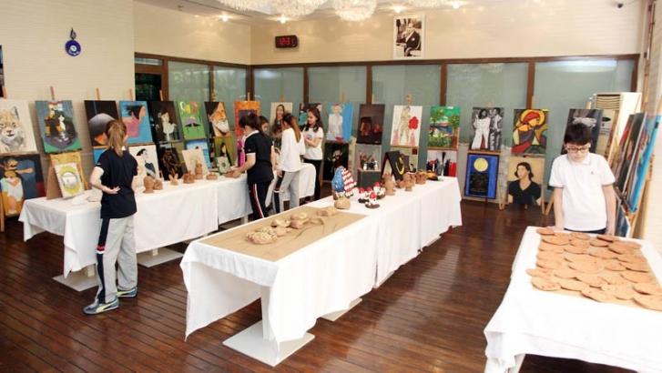 SANKO Okullarında sanata yolculuk